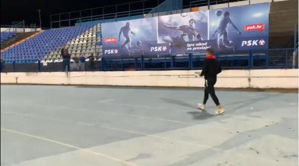 Vratar Gorice dirnuo Osječane gestom nakon utakmice u Gradskom vrtu