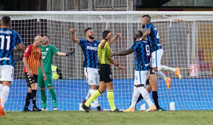 Inter slavio protiv Beneventa, oba Vatrena ušla u 65. minuti