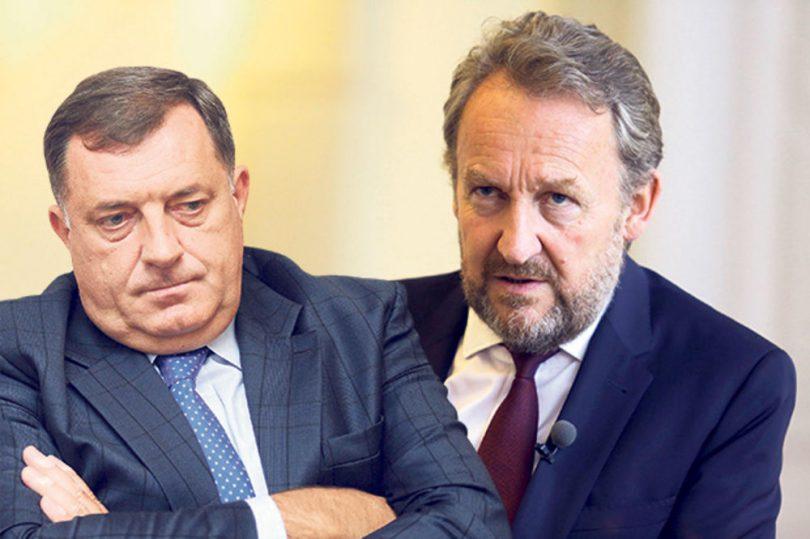 Naša stranka: Izetbegović u Zagrebu legitimira Dodika