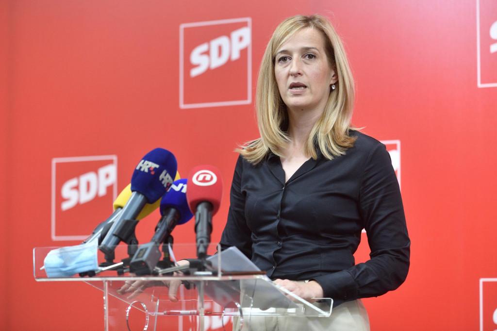 Potencijalna šefica SDP-a RH: Narodi u BiH moraju biti ravnopravni, HVO zaslužio odlikovanje