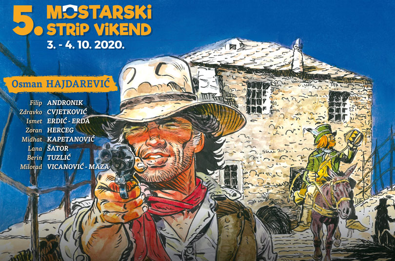 Bez obzira na koronu, Mostarski strip vikend stiže u Grad na Neretvi