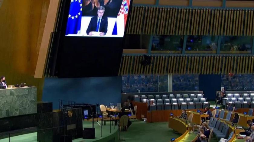 Plenković u UN-u pozvao na jednakost Hrvata kao konstitutivnog naroda u BiH