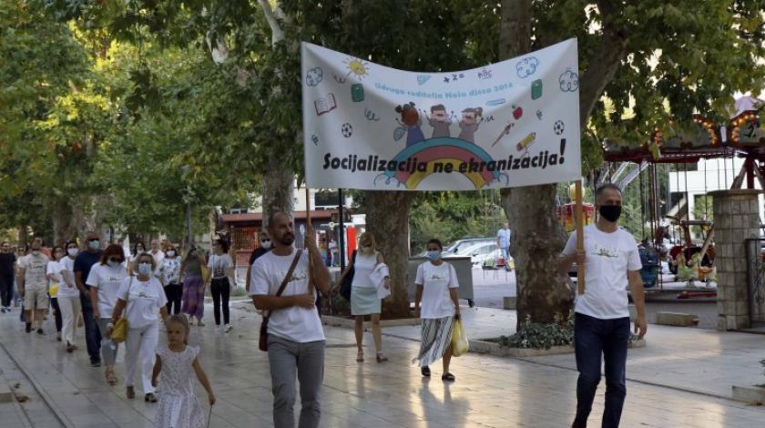 Tisuću hercegovačkih roditelja na ulici, traži se normalizacija nastavnog procesa