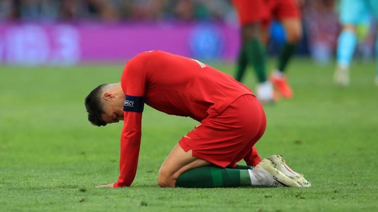 Ronaldo zbog infekcije prsta neće igrati protiv Hrvatske