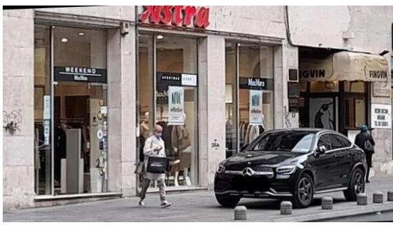 """""""Žena od sultana"""" dobila kaznu zbog nepropisnog parkiranja"""