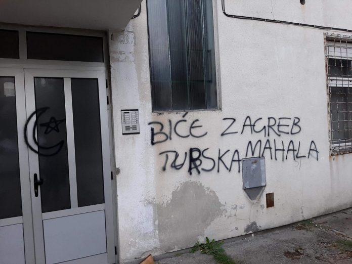 Stravične mrziteljske poruke glavnom gradu Hrvatske u Vitezu