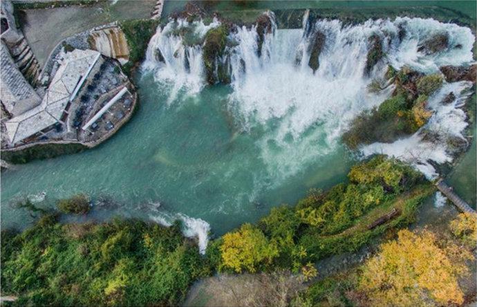 Prekrasni bh. vodopadi tema su novog Napretkovog kalendara