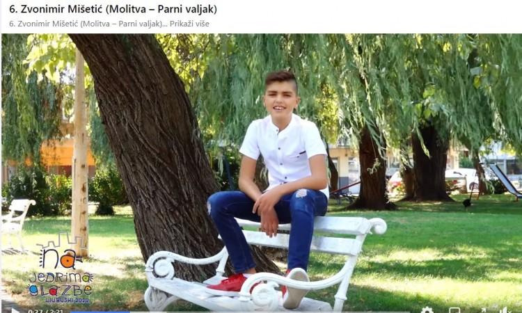 Zvonimir Mišetić pobjednik Dječjeg festivala 'Na jedrima glazbe' Ljubuški
