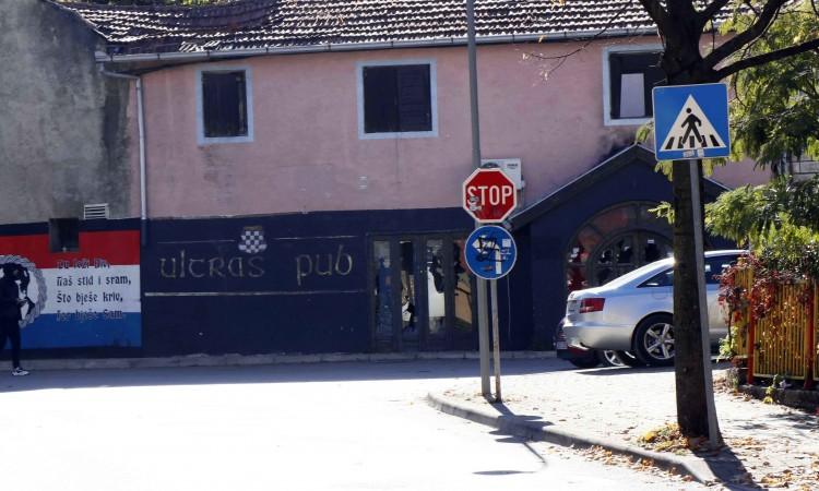 Policijski službenici uhitili osumnjičene zbog paljenja Ultras puba