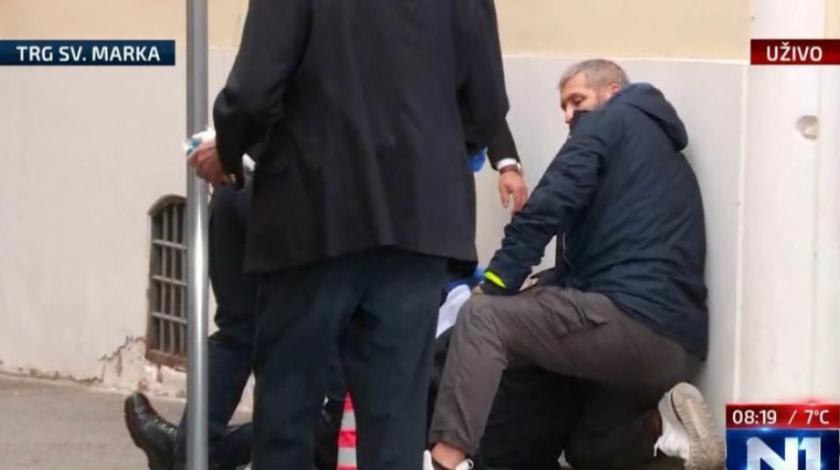 Upucao policajca pred Vladom i Saborom pa počinio samoubojstvo