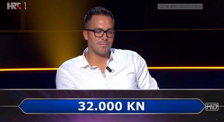 U Milijunašu ispao na pitanju za 64.000, znate li odgovor?