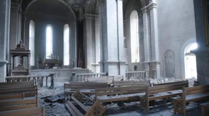 Azerbajdžanske snage granatirale katedralu u Nagorno Karabahu