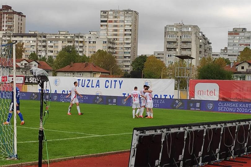 Zrinja je naprosto rastavio na dijelove Tuzlu City
