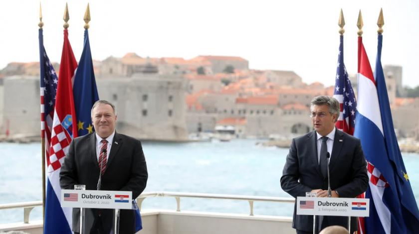 Pompeo i Plenković razgovarali o Hrvatima u BiH