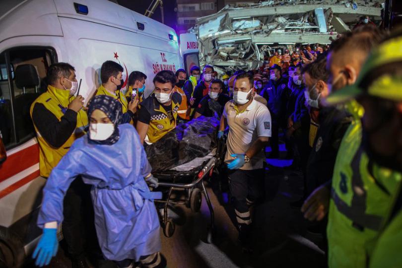 Užasan potres u Grčkoj i Turskoj odnio puno života, a ozlijeđenih ima na stotine