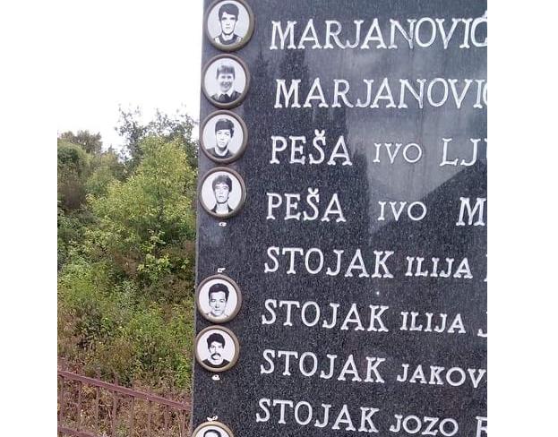 U Travniku oštećen spomenik poginulim Hrvatima