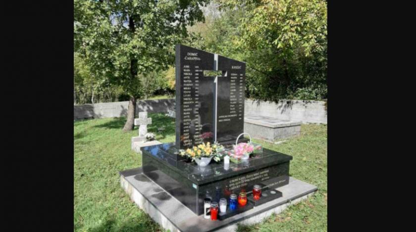 Kod Mostara obilježena tužna obljetnica pokolja 32 hrvatska civila