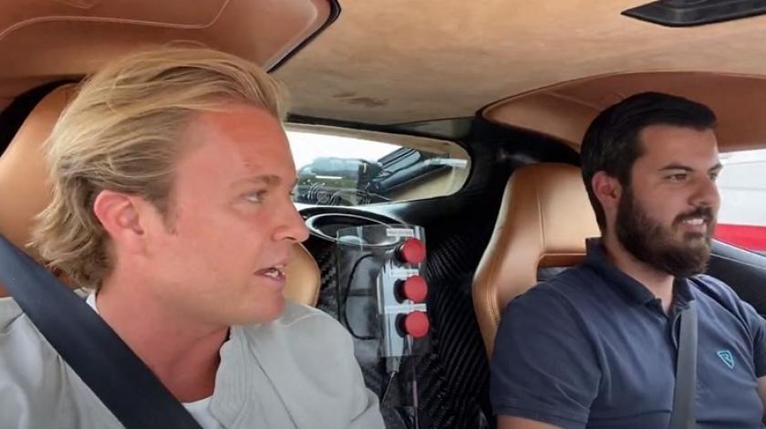 """Svjetski prvak F1 posjetio Rimca: """"Mate, ti si s drugog planeta"""""""