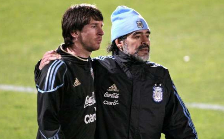 Evo kako se Messi oprostio od Maradone