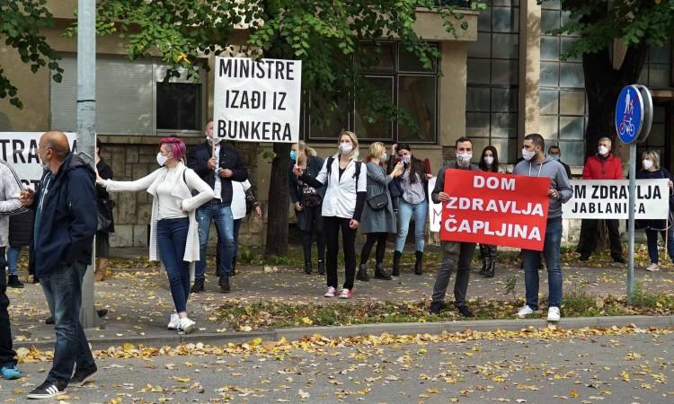Zdravstveni radnici HNŽ-a idući tjedan stupaju u generalni štrajk
