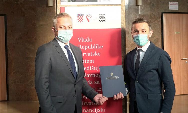 Vlada Republike Hrvatske nastavlja financijski pomagati HNK Mostar
