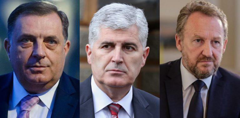 Dodik i Čović potvrdili sudjelovanje na konferenciji o Daytonu, čeka se Bakira