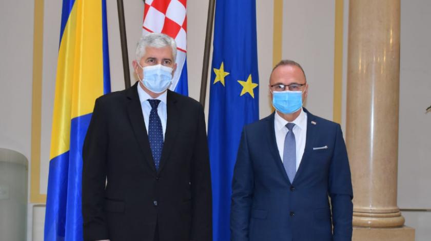 Grlić Radman izrazio nadu će Hrvatima u BiH biti omogućeno da izaberu svoje legitimne predstavnike