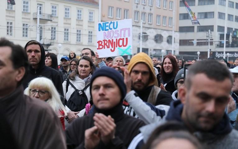 Za sutra u podne se najavljuju prosvjedi protiv Stožera diljem Hrvatske