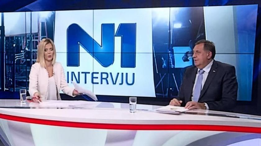 VIDEO Voditeljica isprovocirala Dodika, on na sva pitanja odgovarao istom rečenicom