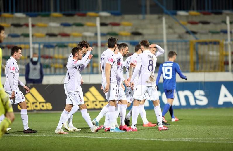Hajduk u 90. minuti zabio za pobjedu na gostovanju kod Lokomotive