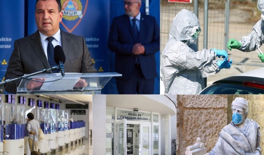 U Hrvatskoj preminule 43 osobe, preko 2500 novozaraženih