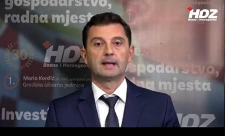 HDZ BiH otvorio izbornu kampanju u Mostaru