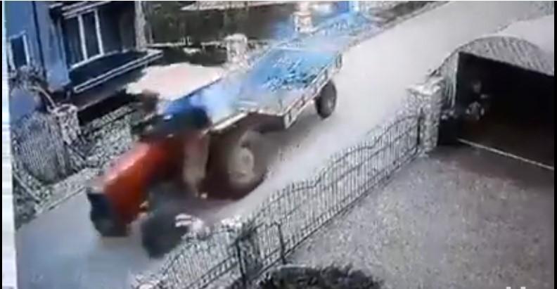 VIDEO Monstruozan čin: Traktorom lovio psa i namjerno ga pregazio