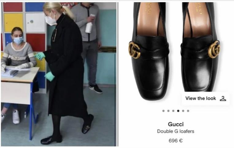 Gospođa Izetbegović glasovala u Gucci cipelicama od 700 eura
