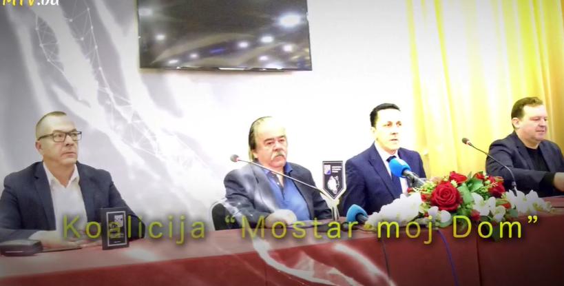 Koalicija 'Mostar moj dom' otvorila izbornu kampanju u Mostaru