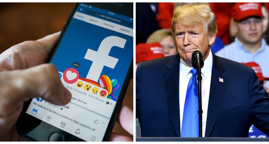 Facebook suspendirao Trumpov profil na dvije godine