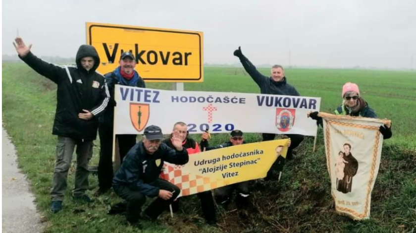 Šest dana pješačili iz Središnje Bosne do Vukovara