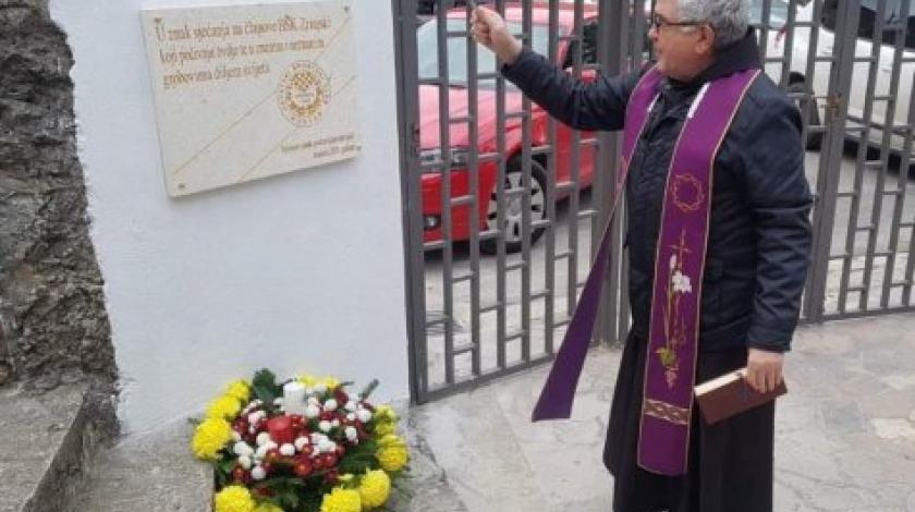 U Mostaru otkrivena spomen ploča u znak sjećanja na preminule članove HŠK Zrinjski