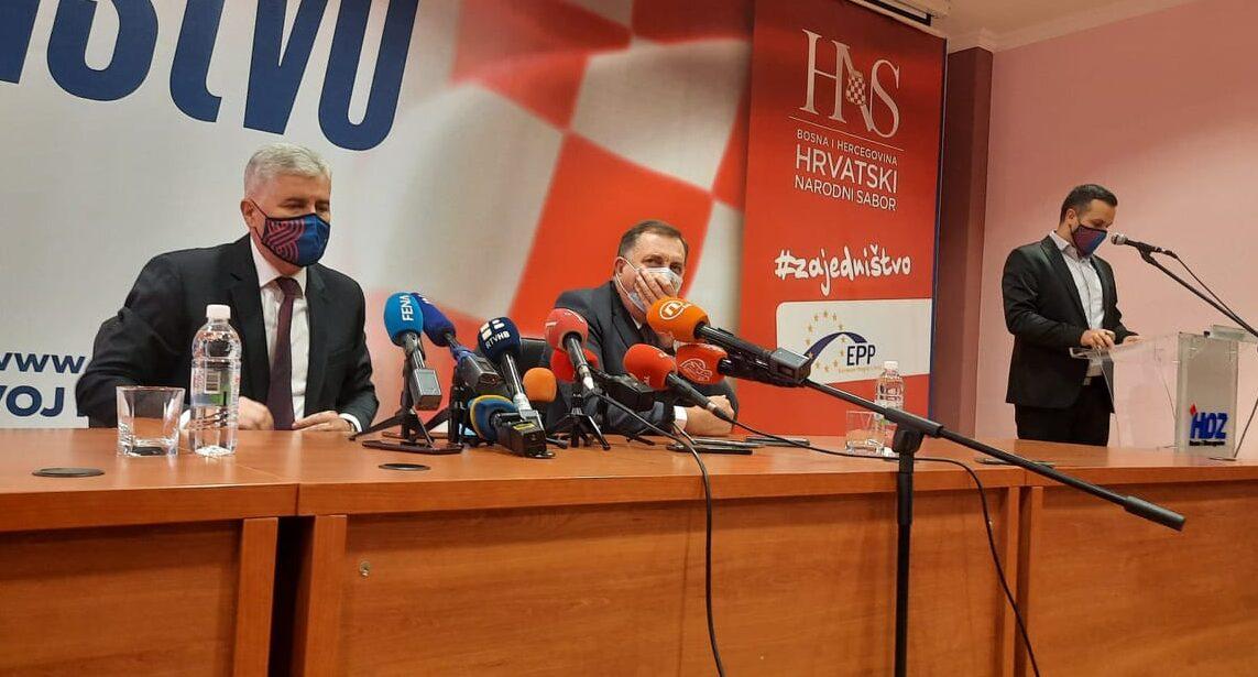 Dodik: Tri naroda i dva entiteta, a možda i tri!