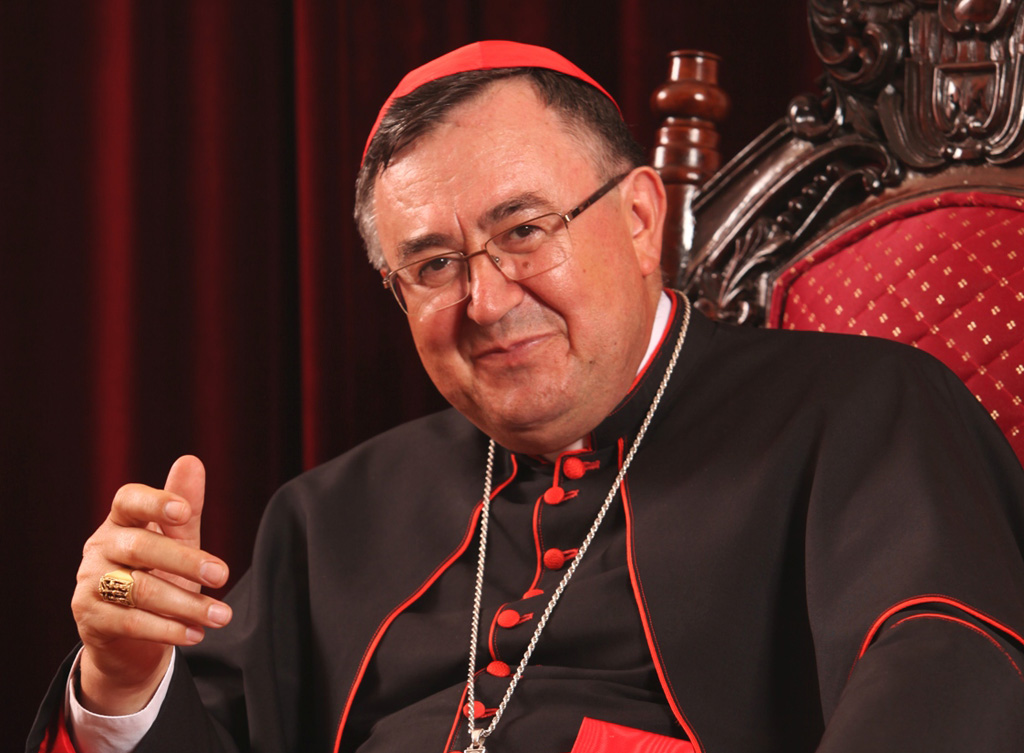 Puljić večeras predvodi misu za preminule od koronavirusa