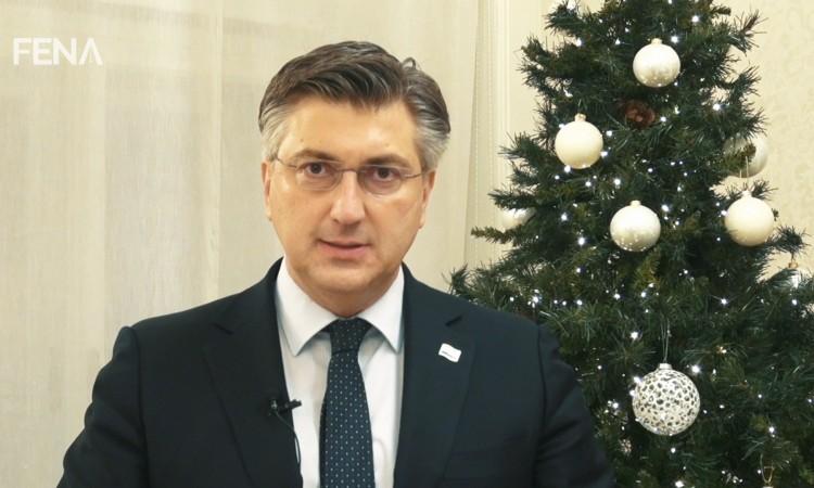 Plenković: Vjerujemo u pobjedu HDZ-a BiH na izborima u Mostaru