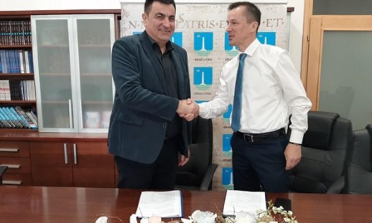 Izvršena primopredaja dužnosti gradonačelnika Livna