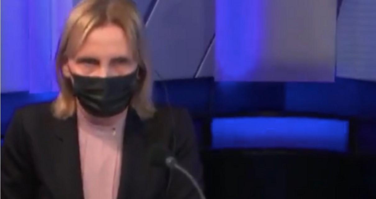 VIDEO Reakcija HRT-ove voditeljice u trenutku potresa oduševila internet