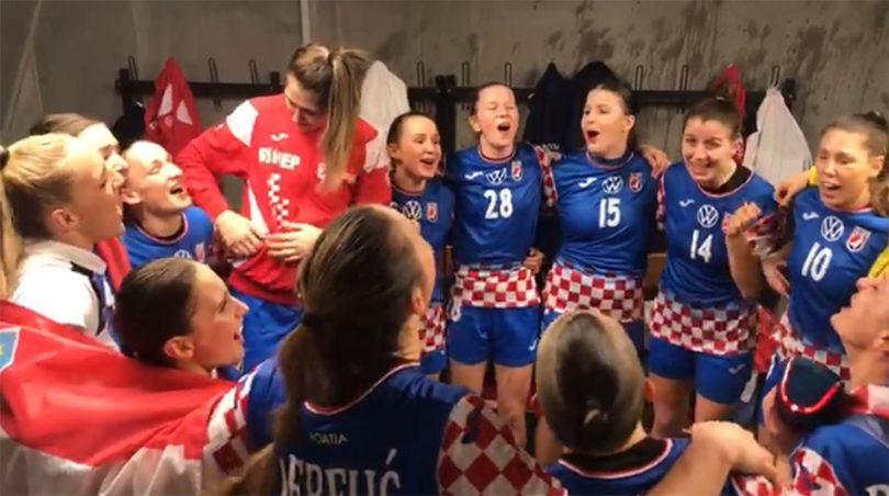 Pogledajte slavlje hrvatskih rukometašica nakon osvajanja bronce