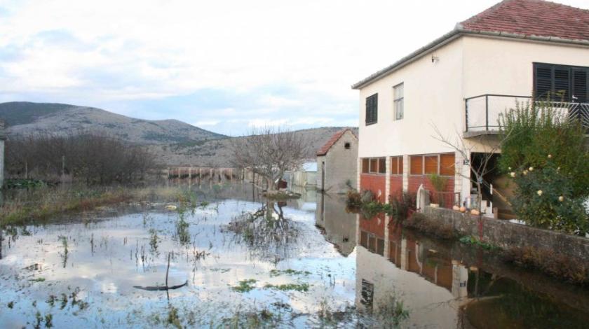 Obilne kiše prouzrokovale velike probleme u Hercegovini