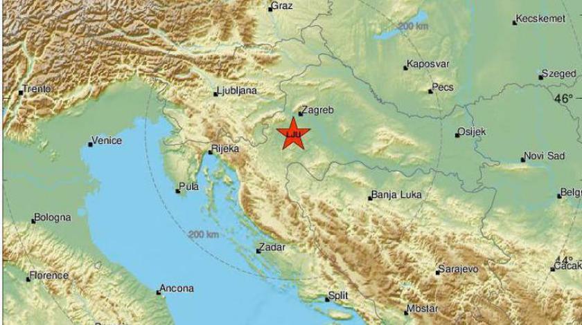 Novi potresi s epicentrom kod Petrinje