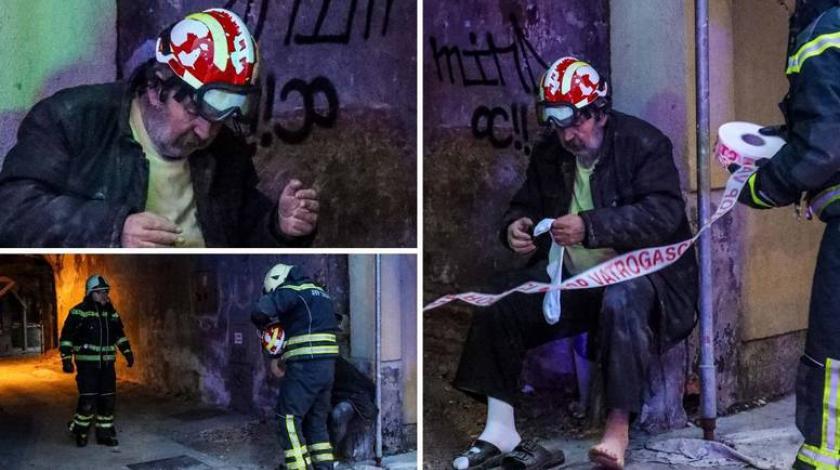 Objavljene dramatične fotografije spašavanja čovjeka nakon potresa u Sisku