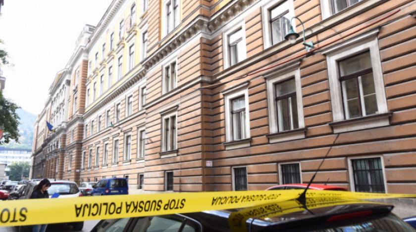 Sarajevo: Dojava o bombi u Općinskom sudu