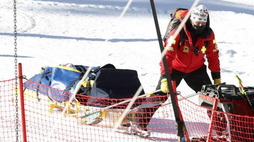 VIDEO Strašna nesreća: Skijašica sa 115 km/h probila dva reda zaštitne ograde