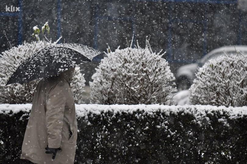 Danas nas očekuje pogoršanje vremena, najavljen i snijeg